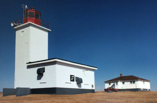 Cape Saint Mary lighthouse 1988