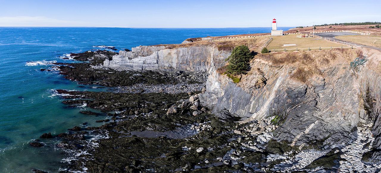 Le Parc du phare au Cap Sainte-Marie