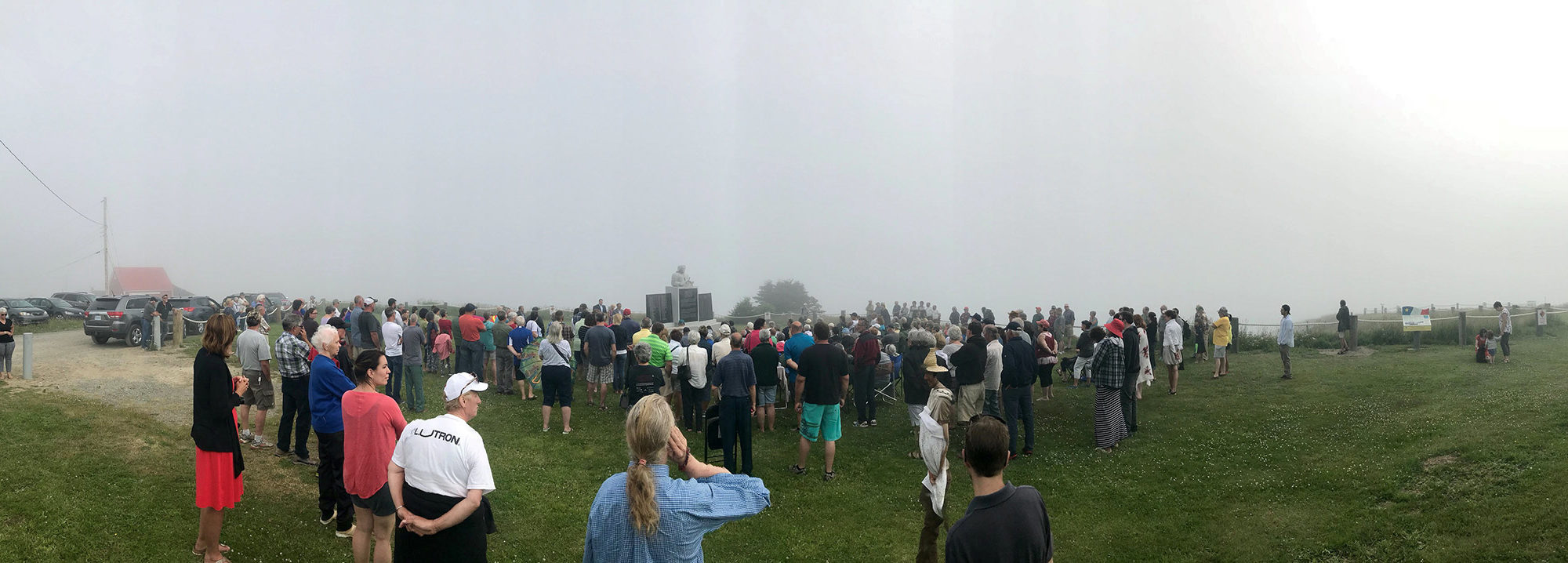 Official Unveiling of the Lost to the Sea monument